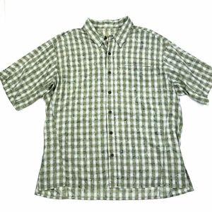 Mountain Hardwear Plaid Button Down Shirt XL